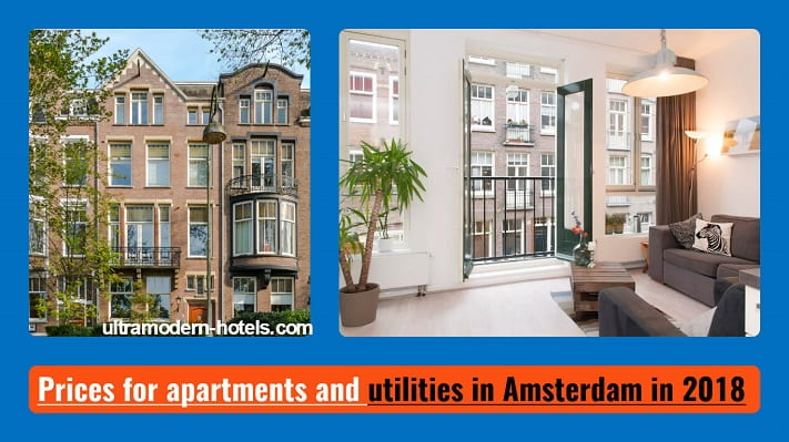 Cost of living and prices in Amsterdam in 2018
