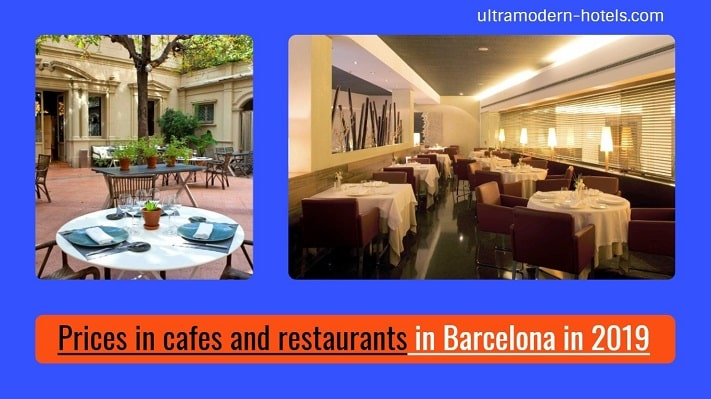 Prices For Food In Barcelona In 2019 Cafes Restaurants