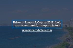 Prices in Limassol, Cyprus 2018