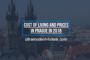 Cost of living and prices in Prague in 2018