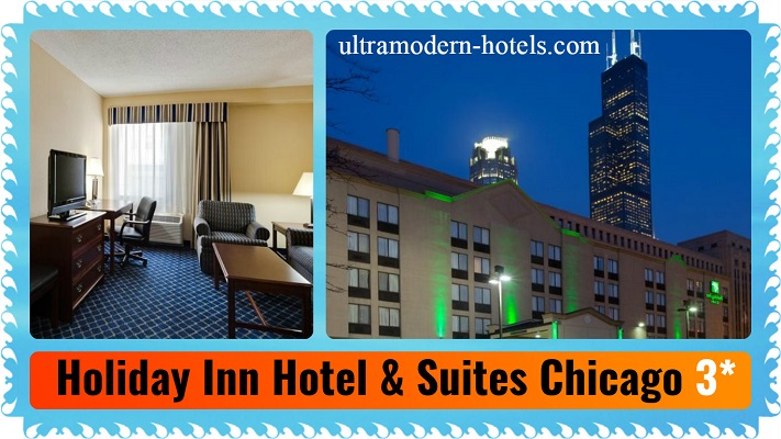 Cheap 3 stars hotels near chicago center top 5 for Reasonable hotels downtown chicago