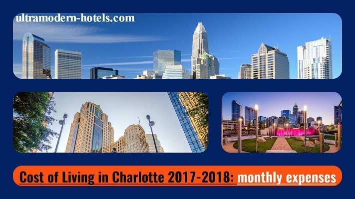 cost of living in charlotte nc 2017 2018 monthly expenses. Black Bedroom Furniture Sets. Home Design Ideas